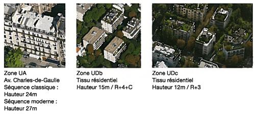 Les Hauteurs Plafond du Plu de Neuilly pourraient freiner beaucoup de projets de surélévation