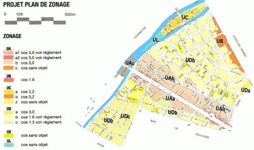 PLU Neuilly