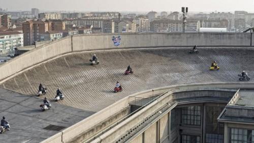 Lingotto : le circuit automobile sur les toits des usines fiat